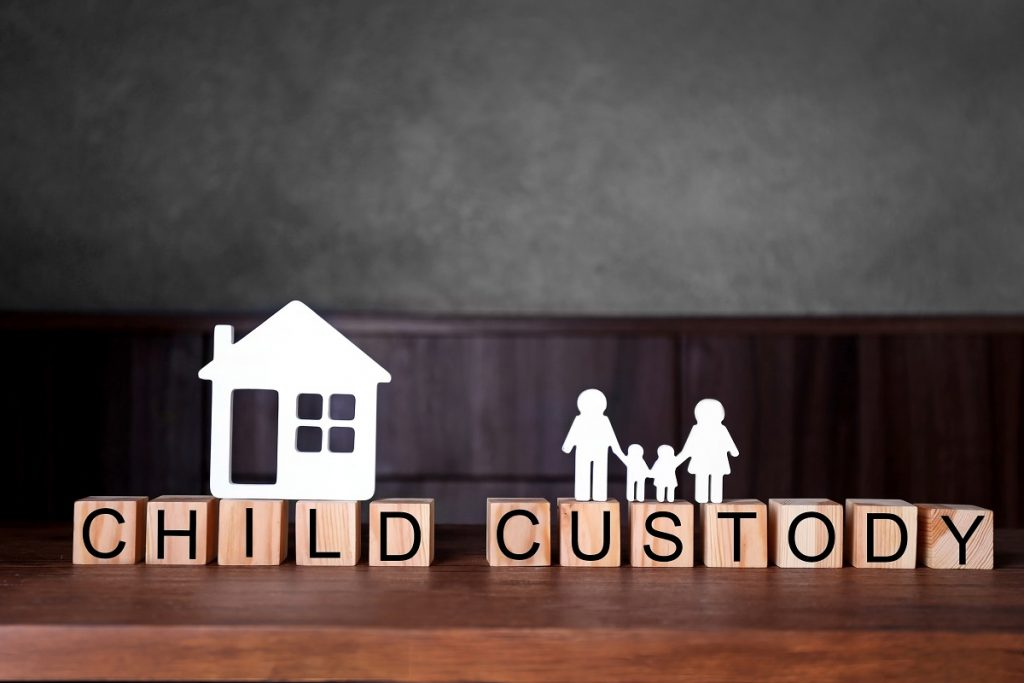 child custody letter blocks