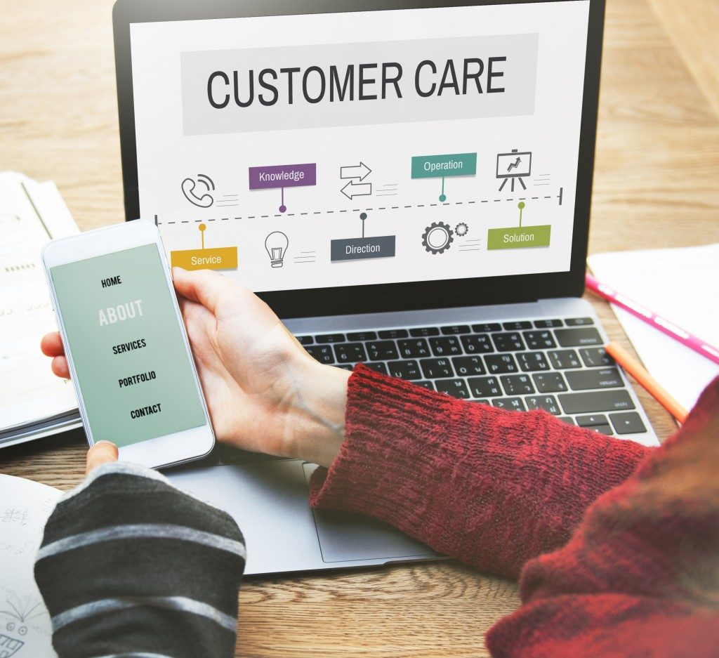 technology being use to serve customers better