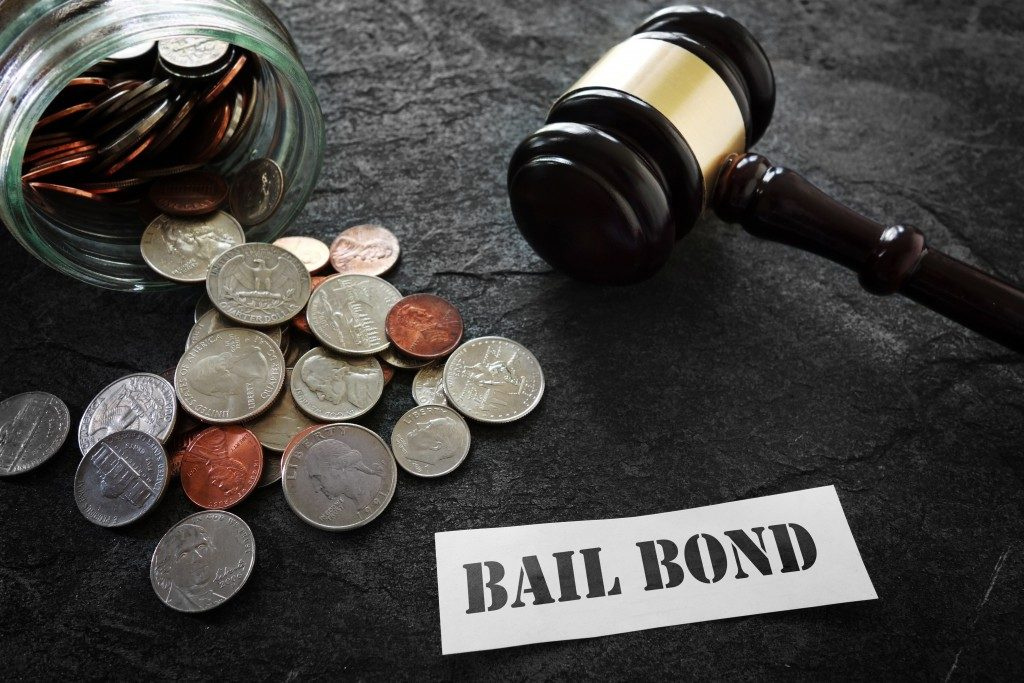 Bail bonds concept