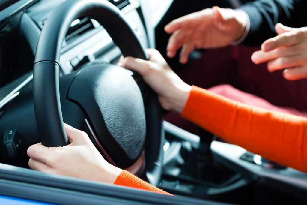 teaching how to drive