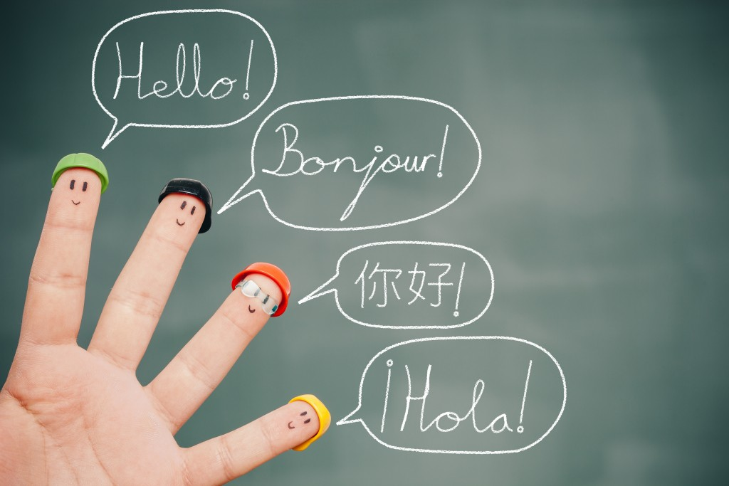 bilingual visualization