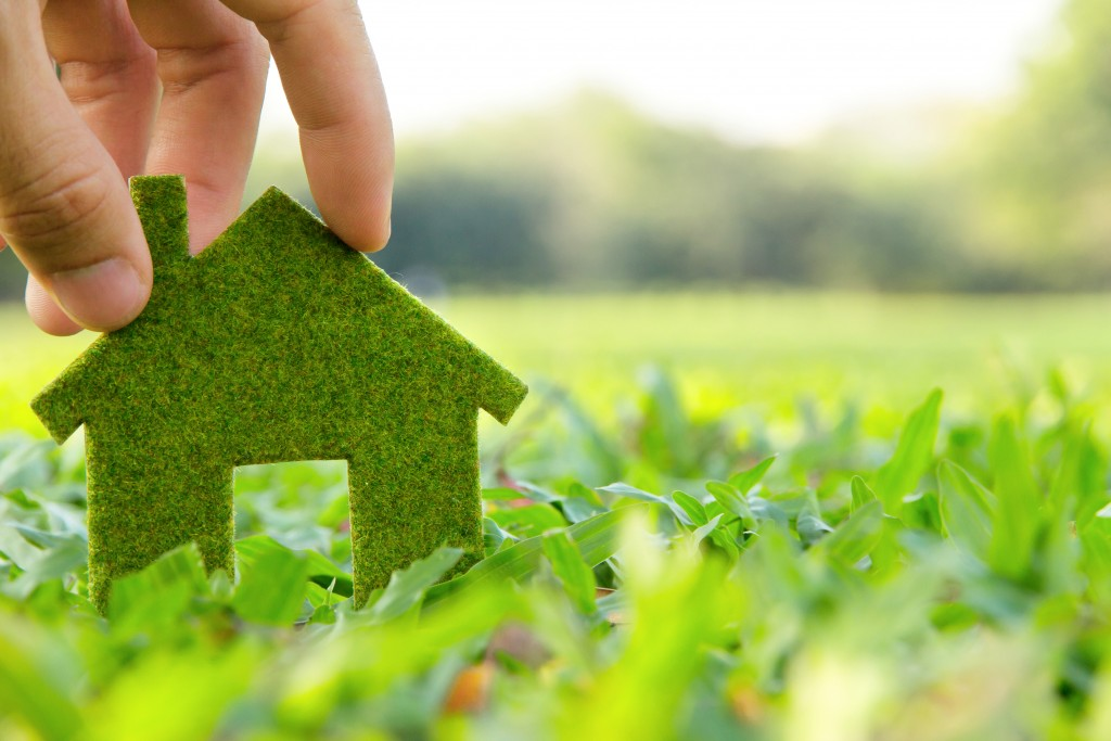 ecofriendly home concept