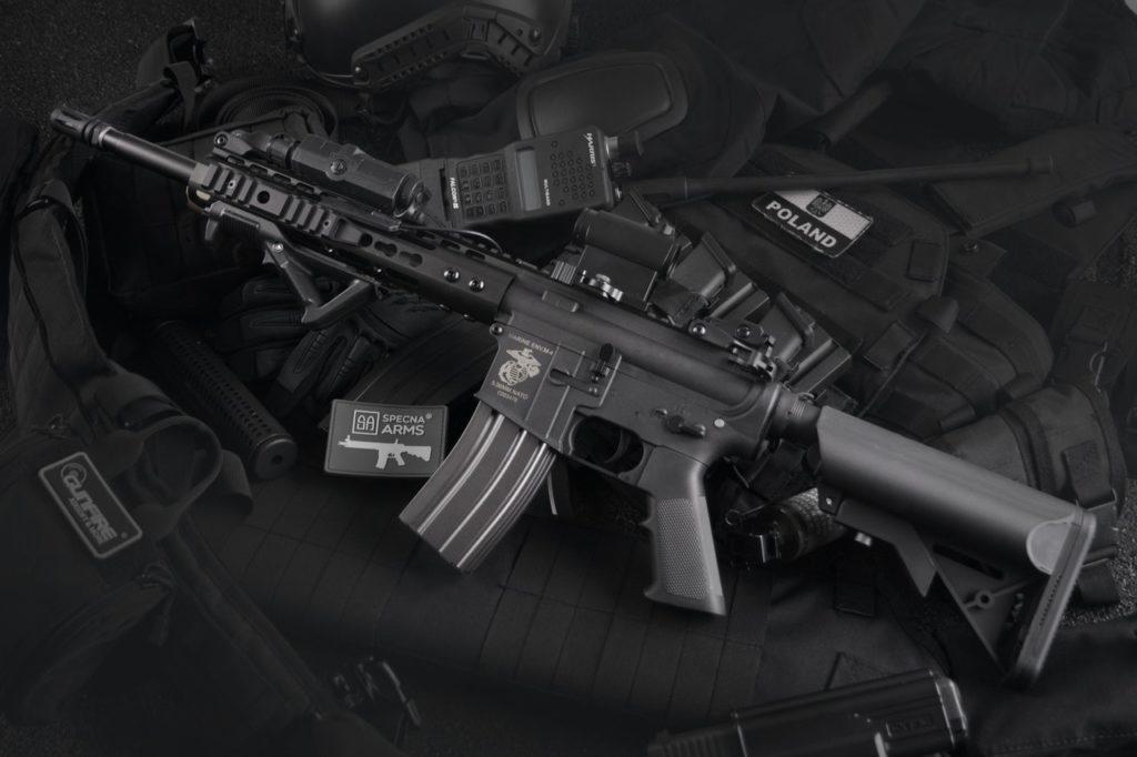 Assault Rifle AR-15 close quarter combat