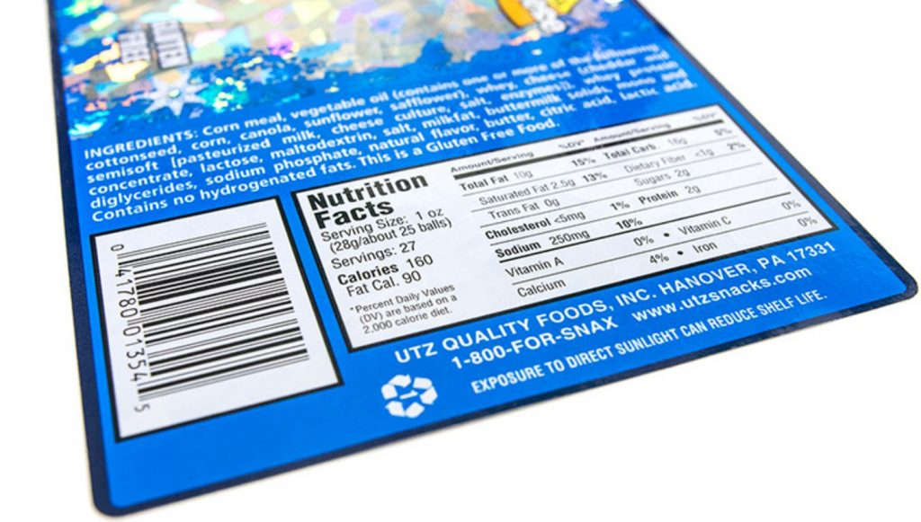 food label