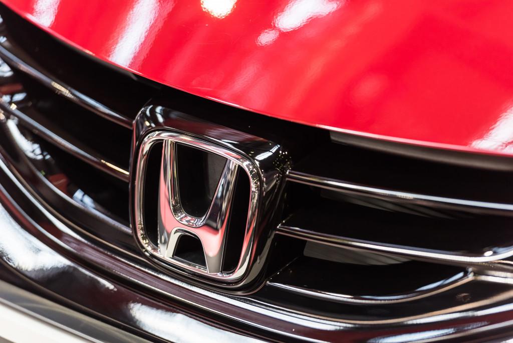 hood of a car