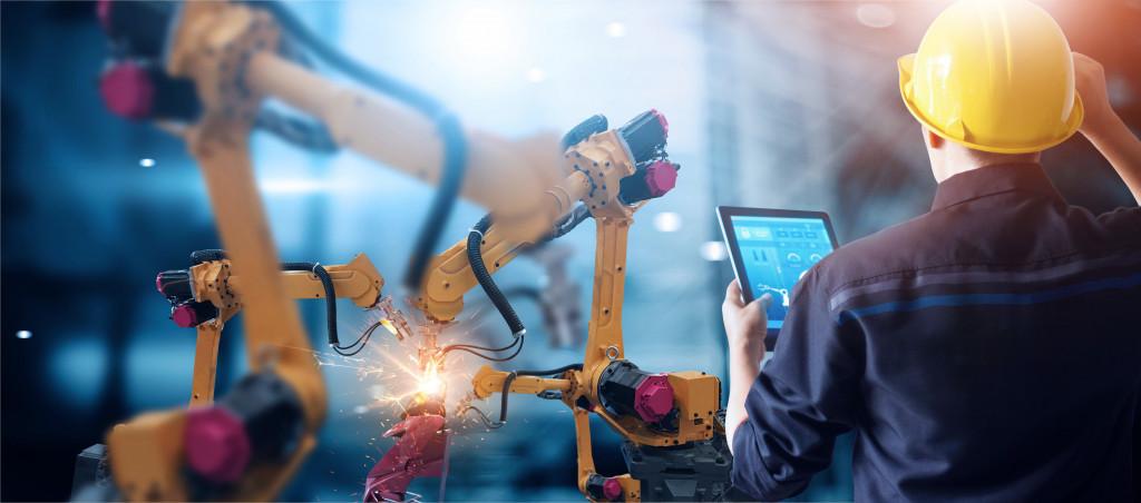 robotic manufacturing line